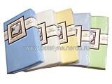 Trikotažinės paklodės Jersy ( su guma )