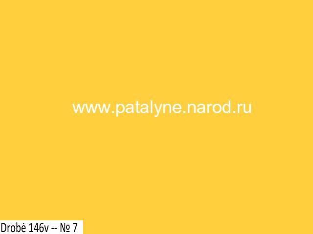 drobė 146v - № 7